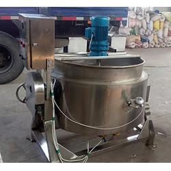 平顶山不锈钢搅拌夹层锅|不锈钢搅拌夹层锅规格|诸城九龙机械图片