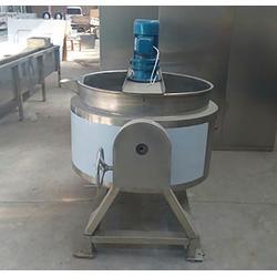 不锈钢搅拌夹层锅规格、郑州不锈钢搅拌夹层锅、诸城九龙机械图片