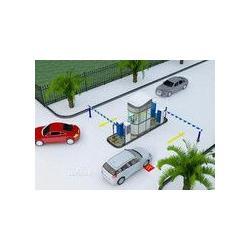 停车场管理道闸起落杆系统图片
