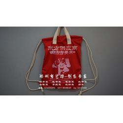 手提袋两用背包定做厂家 布艺坊量身定做帆布袋棉布袋图片