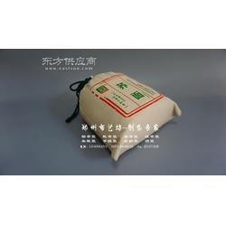 西乡农家小米包装袋 帆布包装袋加工 棉布杂粮袋定做图片