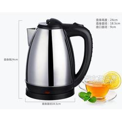 OEM 电热水壶 304不锈钢电水壶自动断电烧水壶厂家 授权加工图片