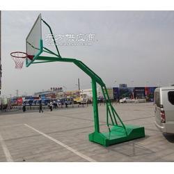 凹箱移动篮球架供应商设计精巧加工精细图片