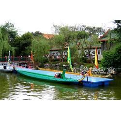 14人木质龙舟 12.8米标准比赛龙舟 端午节龙舟大赛专用 龙舟厂家图片