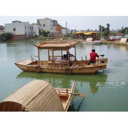 5.5米木质单亭船 农用摇橹船 电动单亭木船 户外休闲观光木船图片