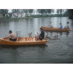 景观装饰船 3.5m欧式手划木船 观光小木船 景点木船 款式可定制图片