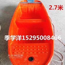 2.5米塑料船带活鱼舱供应商图片