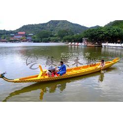 12.8m木质龙舟 端午赛龙舟专用木船 14人标准比赛龙舟 苏兴制造图片