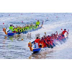 22人国际标准龙舟 18.3m木质龙舟 玻璃钢龙舟 端午节比赛龙舟图片