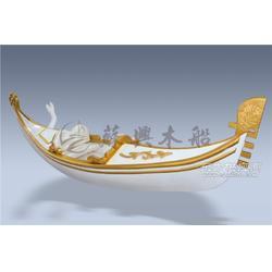3m贡多拉木船 精品欧式手划船 贡多拉装饰船 贡多拉摆件木船图片