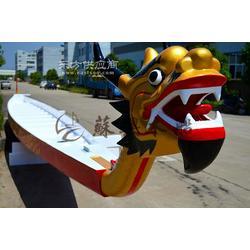 22人标准玻璃钢龙舟 端午龙舟比赛 龙舟大赛专用 苏兴木船制造图片