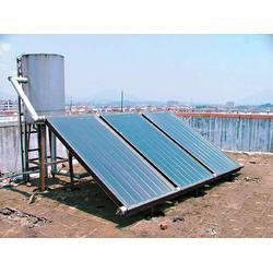 金丰碳晶墙暖-建筑一体化分体式太阳能热水器-兰陵分体式太阳能图片