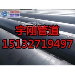 高强度环氧煤沥青防腐直缝钢管厂家图片