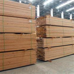 三通木材-铁杉木方-山东铁杉木方厂家图片