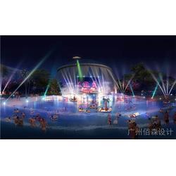 景区温泉设计案例|佰森园林(在线咨询)|温泉设计图片