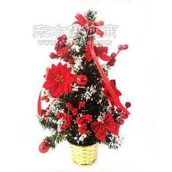 2016年新款美陈装饰小花盆圣诞工艺品圣诞树出售图片