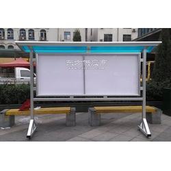 铝合金公告栏,铝合金宣传栏,悬挂式宣传栏,移动报栏阅报栏厂家图片