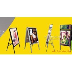 单面海报架折叠架,手提海报架海报架供应市场图片