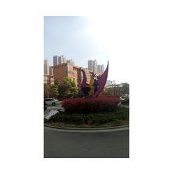 合肥不锈钢雕塑、合肥众志雕塑、不锈钢景观雕塑图片