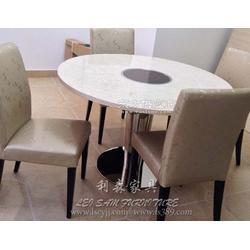 西餐厅茶餐厅火锅桌 电磁炉人造石火锅桌椅组合厂家直销图片