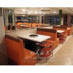 厂家定制人造石火锅电磁炉火锅桌椅组合图片