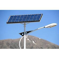 祥腾新能源管安装 崇礼太阳能路灯厂家-太阳能路灯图片