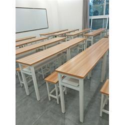 双人课桌椅-驻马店双人课桌椅定做厂家(科普黑板)图片
