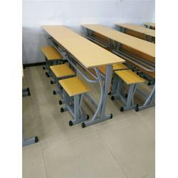 焦作学校双人课桌椅厂家 科普联排椅 学校双人课桌椅图片