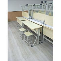 双人课桌椅_平顶山双人课桌椅定制_【科普黑板】(优质商家)图片