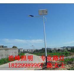 农村建设太阳能路灯浩峰照明现货供应图片