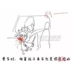 安全座椅分为五点式保护和前置护体保护图片