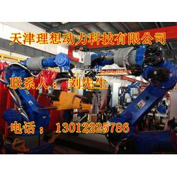 点焊机器人特点设备,点焊机器人结构生产线图片