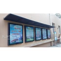 广告看板制造候车亭不锈钢候车亭图片