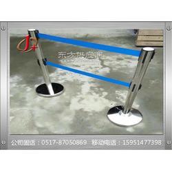 不锈钢伸缩隔离带-一米线栏杆底座采用进口弹簧图片