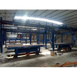铸铁漏粪板生产线、叁叁畜牧设备(在线咨询)、漏粪板生产线图片