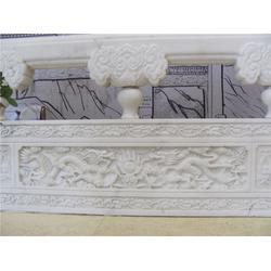 江苏栏杆,草白玉石栏杆,精工坊雕塑(优质商家)图片