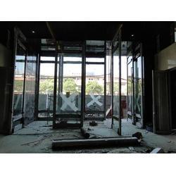 九江不锈钢门-南昌华威不锈钢-不锈钢大门厂家图片
