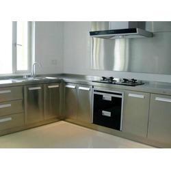 不锈钢橱柜、屏风华威不锈钢装潢、不锈钢橱柜多少钱