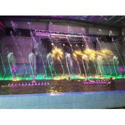 变频音乐喷泉装置、变频音乐喷泉、江苏法鳌汀水景图片