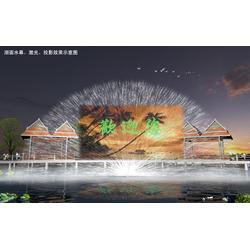 激光水幕、江苏法鳌汀水景科技、激光水幕喷泉图片