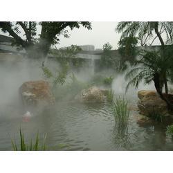 冷霧噴泉生產廠家、杭州冷霧噴泉、法鰲汀水景公司圖片