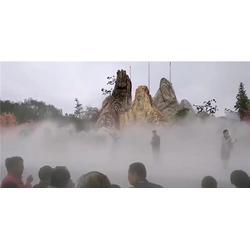 庭院喷雾生产厂家-庭院喷雾-江苏法鳌汀水景科技(查看)图片
