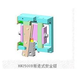 渐进式安全钳生产,渐进式安全钳,汇能电梯配件厂(查看)图片