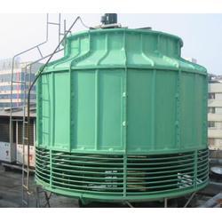 冷却塔,山东卓鑫(优质商家),逆流式玻璃钢冷却塔图片