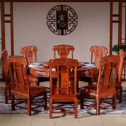 上海缅甸花梨红木家具定做图片