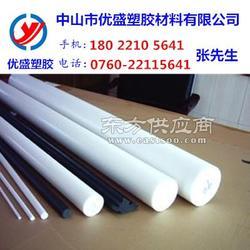 进口聚四氟乙烯棒材 白色PTFE板 耐磨塑料王棒图片