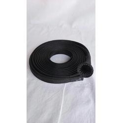 供应用于线束制作,保护电线电缆防磨损压平宽30mm宽的PET可伸缩编织网管图片
