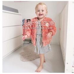 INS女童外套秋冬小童外套女童外套秋北极绒女冬中小童图片