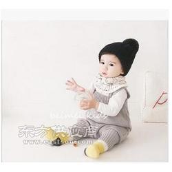 冬季男女宝宝口水巾加绒加厚三角巾婴儿围嘴保暖围巾图片
