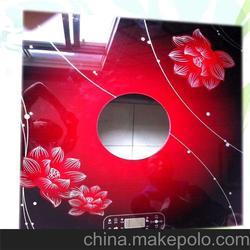 家电钢化玻璃面板 润海玻璃 淮安钢化玻璃面板图片